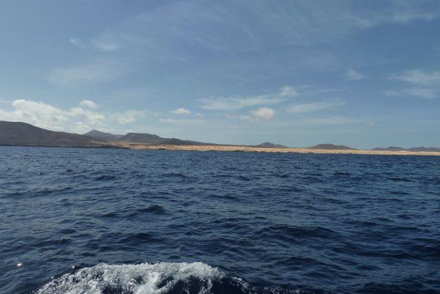 Eerste aanblikken op Fuerteventura, met z'n woestijnlandschappen