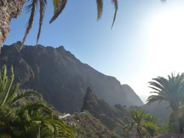 En dan echt de bergen in, op weg naar Masca