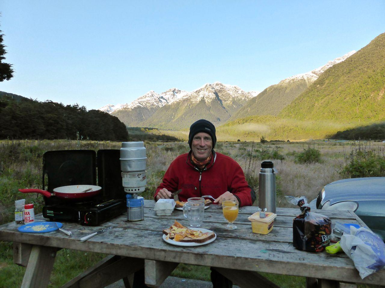 Leuk, kamperen, maar niet rond het vriespunt :)
