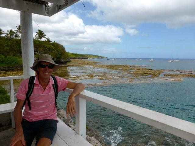 Op de kade van Niue
