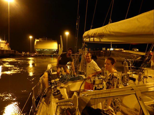 Met Merel en Adriaan aan boord voelt t veilig en gezellig
