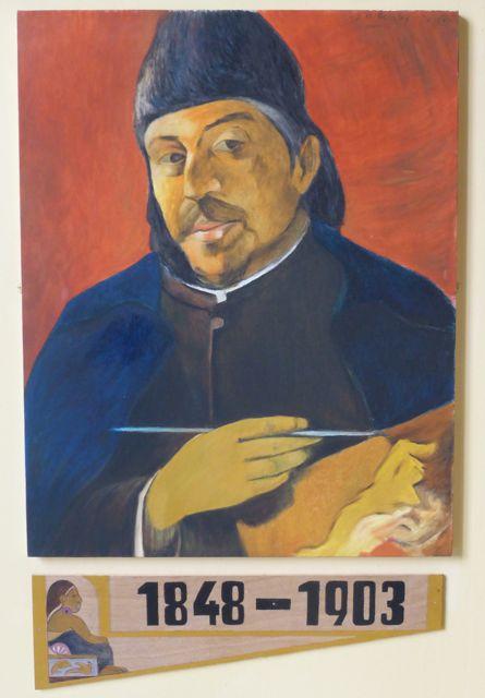 Zelfportret van Paul Gaugain