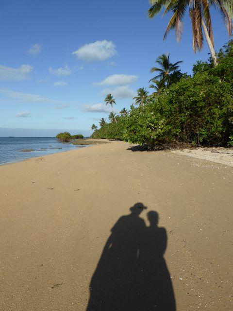 Rondje eiland wandelen bij laag water