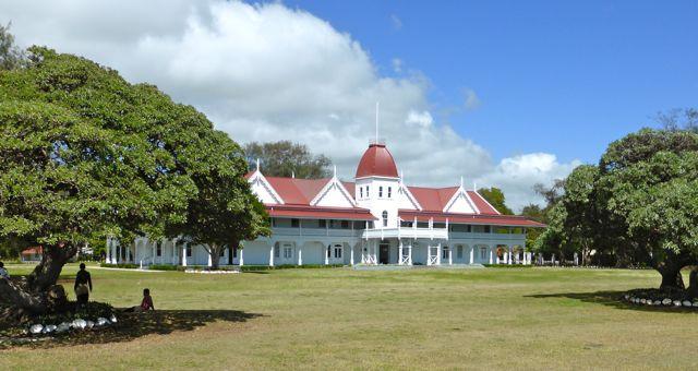 Het bescheiden koninklijk paleis
