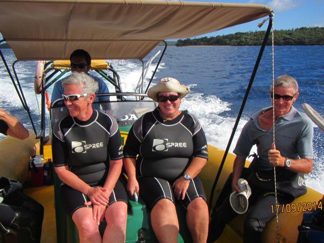 En daar gaan we dan: op weg naar de walvissen