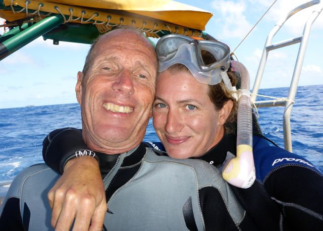 Onze dag kan niet meer kapot, walvissen binnen dertig meter afstand!